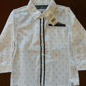 NWT Sovereign Code Boy's 24 Months Button Down